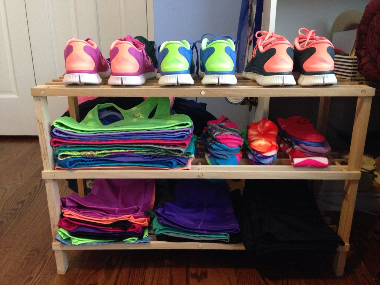 How To Organise Your Fitness Clothing