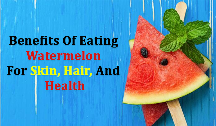 Wonderful Health Benefits of Watermelon