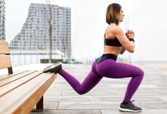 Side squats to improve glute volume and treat sagging